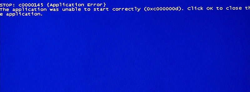 Stop error c0000145 после обновления Windows 7