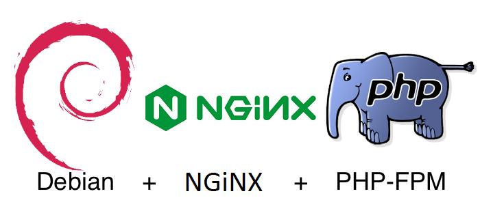 Установка php-fpm и nginx на Debian
