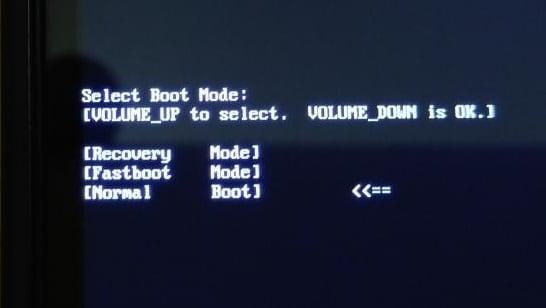 Normal Boot что это такое на Андроид