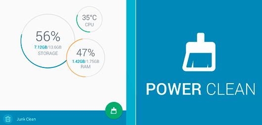 Power Clean приложение для оптимизации Андроид