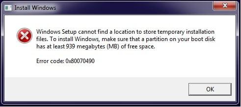 Как исправить 0x80070490 на Windows 10