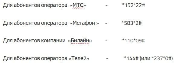Как отключить подписку Zvooq в Теле2, Билайн, МТС, Мегафон
