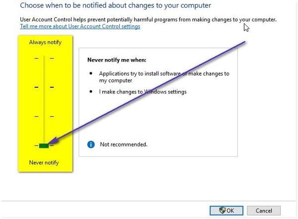 Ошибка файловой системы 1073741819 в Windows 7, 10 как исправить