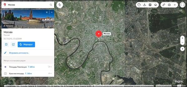 Как смотреть со спутника на свой дом